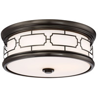 Minka-Lavery 826-281-L Signature LED 16 inch Harvard Court Bronze Plated Flush Mount Ceiling Light