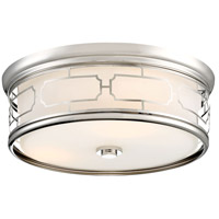 Minka-Lavery 826-613-L ML LED 16 inch Polished Nickel Flush Mount Ceiling Light