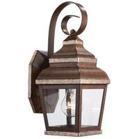 Minka-Lavery 8261-161 Mossoro 1 Light 14 inch Mossoro Walnut with Silver Highlights Outdoor Wall Light The Great Outdoors