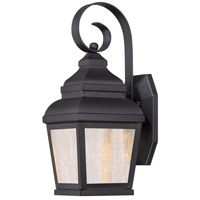 Mossoro LED 14 inch Black Outdoor Wall Mount Lantern