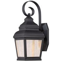 Minka-Lavery 8261-66-L Mossoro LED 14 inch Black Outdoor Wall Bracket The Great Outdoors