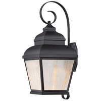 Minka-Lavery 8262-66-L Mossoro LED 18 inch Black Outdoor Wall Light The Great Outdoors