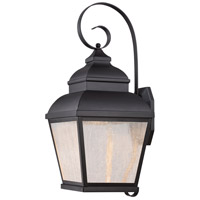 Minka-Lavery 8263-66-L Mossoro LED 23 inch Black Outdoor Wall Light The Great Outdoors
