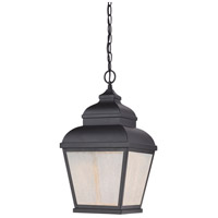 Mossoro LED 10 inch Black Outdoor Chain Hung Lantern