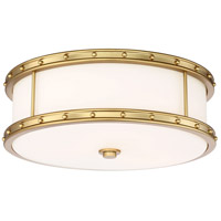 Minka-Lavery 827-249-L ML LED 6 inch Liberty Gold Flush Mount Ceiling Light