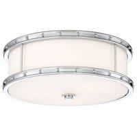 Minka-Lavery 827-77-L Minka Lavery LED 16 inch Chrome Flush Mount Ceiling Light