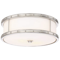 Minka-Lavery 827-84-L ML LED 6 inch Brushed Nickel Flush Mount Ceiling Light
