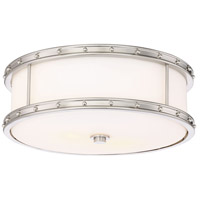 Minka-Lavery 827-84-L Minka Lavery LED 6 inch Brushed Nickel Flush Mount Ceiling Light