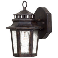 The Great Outdoors by Minka Wickford Bay 1 Light Wall Lamp in Iron Oxide 8271-A357
