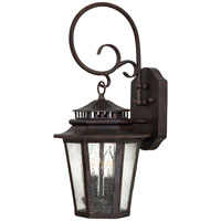 The Great Outdoors by Minka Wickford Bay 2 Light Wall Lamp in Iron Oxide 8272-A357