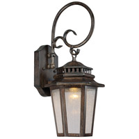 Wickford Bay LED 20 inch Iron Oxide Outdoor Wall Mount Lantern