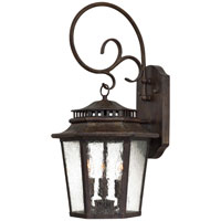 The Great Outdoors by Minka Wickford Bay 3 Light Wall Lamp in Iron Oxide 8273-A357