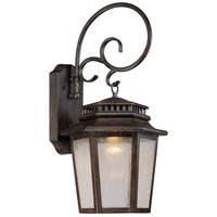 Wickford Bay LED 22 inch Iron Oxide Outdoor Wall Mount Lantern