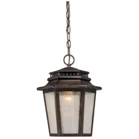 Wickford Bay LED 10 inch Iron Oxide Outdoor Chain Hung Lantern