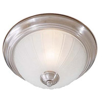 Signature 1 Light 11 inch Brushed Nickel Flushmount Ceiling Light in GU24