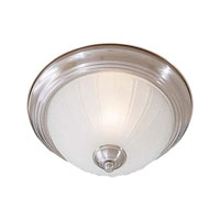 Minka-Lavery Signature 1 Light Flushmount in Brushed Nickel 828-84