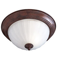 Minka-Lavery Signature 1 Light Flushmount in Antique Bronze 828-91