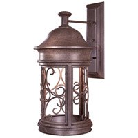 Sage Ridge 1 Light 23 inch Vintage Rust Outdoor Wall Mount Lantern