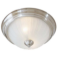 Minka-Lavery 829-84 Signature 2 Light 13 inch Brushed Nickel Flush Mount Ceiling Light photo thumbnail