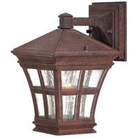 The Great Outdoors by Minka Mission Bay 1 Light Outdoor Wall in Antique Bronze 8291-91