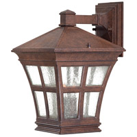The Great Outdoors by Minka Mission Bay 2 Light Outdoor Wall in Antique Bronze 8292-91