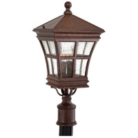 Minka-Lavery 8296-91 Mission Bay 4 Light 24 inch Antique Bronze Post Light photo thumbnail