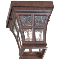 Mission Bay 1 Light 6 inch Antique Bronze Outdoor Flushmount