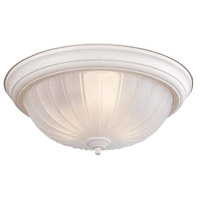 Minka-Lavery Signature 3 Light Flushmount in White 830-86
