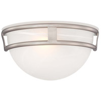 Minka-Lavery Signature 1 Light Sconce in Brushed Nickel 839-84