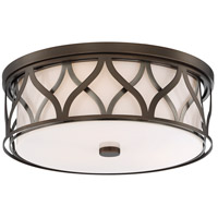Minka-Lavery 840-102-L ML LED 16 inch Harvard Court Bronze Flush Mount Ceiling Light