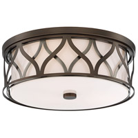 Minka-Lavery 840-102-L Signature LED 16 inch Harvard Court Bronze Flush Mount Ceiling Light