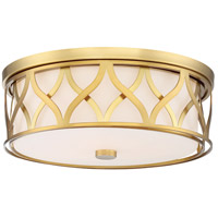 Minka-Lavery 840-249-L ML LED 16 inch Liberty Gold Flush Mount Ceiling Light