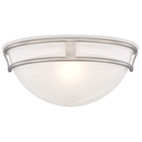 Minka-Lavery Signature 1 Light Sconce in Brushed Nickel 841-84