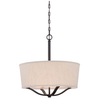 Minka Lavery Signature 3 Light Pendant in Vintage Bronze 843-284