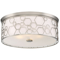 Minka-Lavery 845-84-L Minka Lavery LED 17 inch Brushed Nickel Flush Mount Ceiling Light