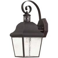 The Great Outdoors by Minka Glen Allen 1 Light Outdoor Wall in Roman Bronze 8551-57