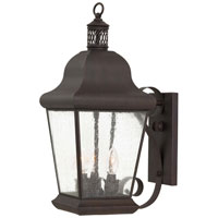 The Great Outdoors by Minka Glen Allen 3 Light Wall Bracket in Roman Bronze 8552-57