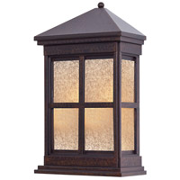 Berkeley 1 Light 18 inch Rust Outdoor Wall in GU24