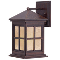 The Great Outdoors by Minka Berkeley 1 Light Outdoor Wall in Rust 8561-51-PL