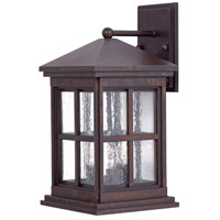 Berkeley 3 Light 17 inch Rust Chemical Outdoor Wall Mount Lantern