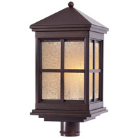 Berkeley 1 Light 22 inch Rust Outdoor Wall