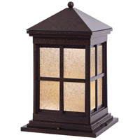 The Great Outdoors by Minka Berkeley 1 Light Pier Mount in Rust 8567-51-PL