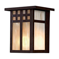 The Great Outdoors by Minka Scottsdale II 1 Light Outdoor Pocket Lantern in Textured French Bronze 8601-A179-PL