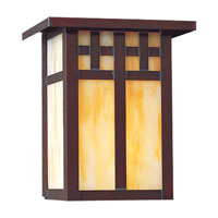 The Great Outdoors by Minka Scottsdale 1 Light Outdoor Wall in Copper Verde 8601-52