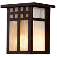 Minka-Lavery 8601-A179 ML 1 Light 7 inch Textured French Bronze Outdoor Wall Mount, Great Outdoors