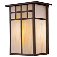 The Great Outdoors by Minka Scottsdale II 1 Light Outdoor Pocket Lantern in Textured French Bronze 8603-A179-PL
