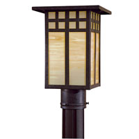 The Great Outdoors by Minka Scottsdale II 1 Light Post Light in Textured French Bronze 8605-A179-PL