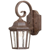 The Great Outdoors by Minka Taylor Court 1 Light Wall Lamp in Vintage Rust 8611-A61