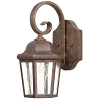 Taylor Court 1 Light 13 inch Vintage Rust Outdoor Wall Mount Lantern