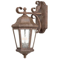 The Great Outdoors by Minka Taylor Court 2 Light Wall Lamp in Vintage Rust 8612-A61